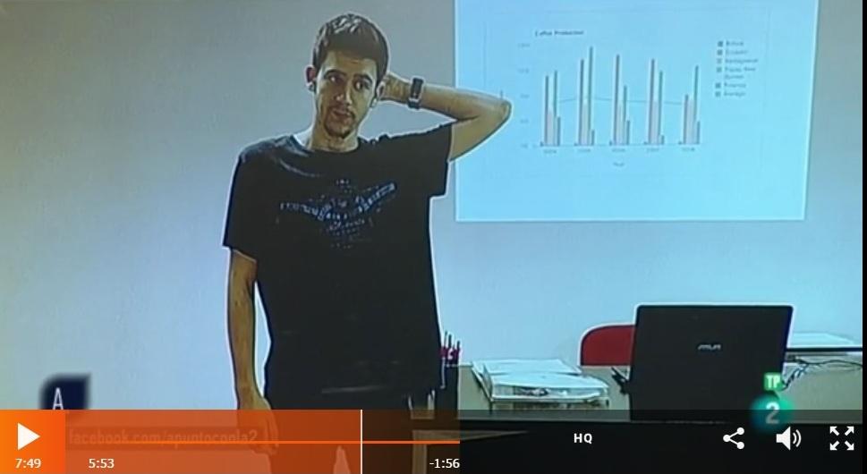 Presentación de trabajos académicos