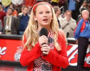 Taylor Swift a la edad de 12 años