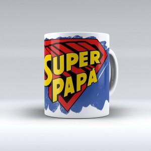 """Una taza para """"súper papás"""". Regalos para papá. Ideas de regalos originales para el Día del Padre"""