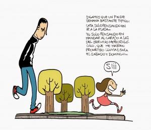 Ilustración de 'La vida de un padre abrumado'