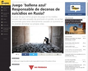 Ballena Azul, el juego que conduce al suicidio