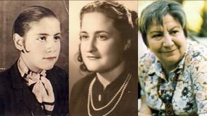 Gloria Fuertes de niña, de joven, de Gloria.