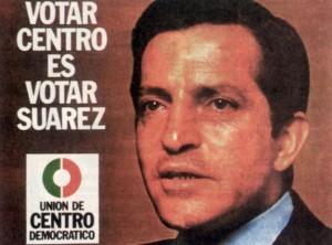 En 1977 Adolfo Suárez pedía el voto para UCD con este cartel electoral. (Este cartel de UCD y el resto de carteles que aparecen en el post son carteles electorales de 1977 a 2015: los carteles electorales de la democracia).