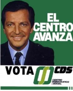 Suárez contraatacó con CDS en las elecciones de 1986.