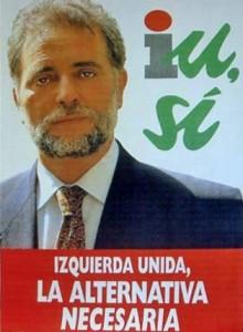 Julio Anguita fue el candidato de Izquierda Unida en 1993.