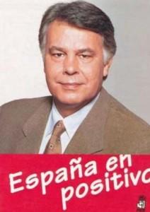 Las elecciones de 1996 fueron las últimas que vieron a Felipe González como candidato.