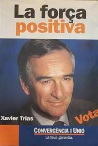 Xavier Trías fue el candidato de CiU.