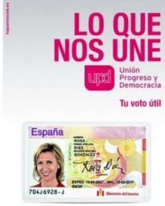 UPyD irrumpió en las elecciones de 2008.