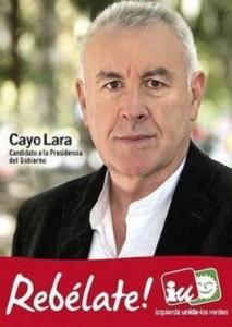 Cayo Lara fue el rostro de Izquierda Unida en 2011.