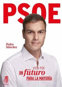 Cartel electoral del PSOE
