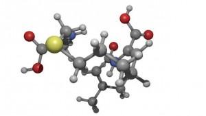 Composición de la cilastatina en 3D