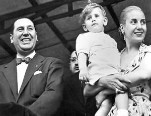 Cuentos de buenas noches para niñas rebeldes. Evita y Juan Domingo Perón