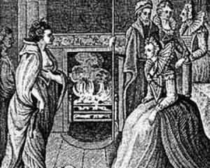 Cuentos de buenas noches para niñas rebeldes. Recreación del encuentro entre Grace O'Malley y la reina de Inglaterra