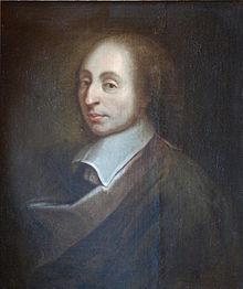 Retrato de Blaise Pascal