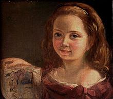 Ada Lovelace de niña. Retrato de Alfred d'Orsay en 1822,
