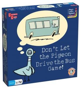 No dejes que la paloma conduzca el juego del autobús