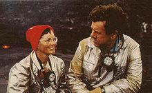 Katia y Maurice Krafft.