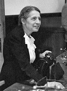 Lise Meitner en 1946.