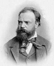 Antonín Dvorak. Retrato de 1882