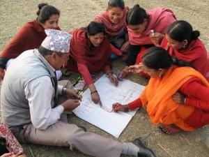 Planificación participativa en Nepal. © ONU-Hábitat