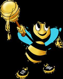 Las abejas y la polinización.