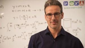 David Calle, profesor de matemáticas