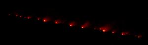 El cometa Shoemaker-Levy 9 se descubrió en 1993 gracias a una serendipia.