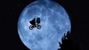 Fotograma de E.T.,el extraterrestre,
