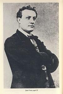 Julio Verne con 25 años