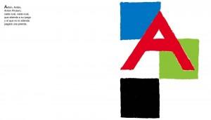 Libros de arte para niños. Alfabeto (Sonia Delaunay)
