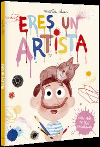 Libros de arte para niños. Eres un artista (Marta Altés)