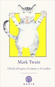 Libros de arte para niños. Fábula del gato, el espejo y el cuadro (Mark Twain)