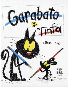 Libros de arte para niños. Garabato y Tinta (Ethan Long)
