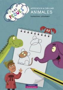 Libros de arte para niños. Los peques aprenden a dibujar animales (Julilustrador)