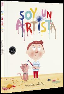 Libros de arte para niños. Soy un artista (Marta Altés)