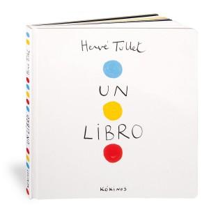 Libros de arte para niños. Un libro (Hervé Tullet)