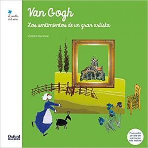 Libros de arte para niños. Van Gogh Los sentimientos de un gran artista