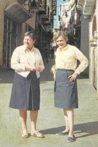 Gloria Fuertes y Phyllis Turnbull