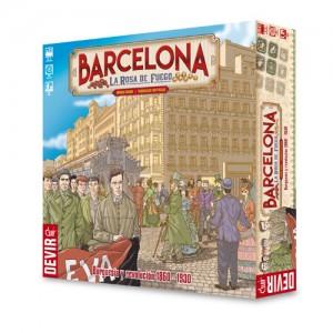Barcelona, la rosa de fuego