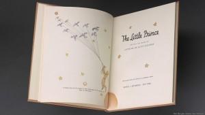 Primera edición en inglés de 'El principito', de Antoine de Saint-Exupéry, publicada en 1943.
