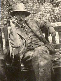 André Gide (22 de noviembre de 1869 - 19 de febrero de 1951) fue un escritor francés, ganador del Premio Nobel de Literatura en 1947. En la imagen André Gide fotografiado en 1920.