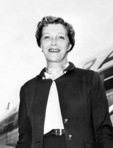 Louise de Vilmorin es una escritora francesa nacida el 4 de abril de 1902 en Verrières-le-Buisson (Essonne), donde murió el 26 de diciembre de 1969. Se comprometió en 1923 con Antoine de Saint-Exupéry, pero finalmente se casó en 1925 con un estadounidense, Henry Leigh Hunt, y se mudó a Las Vegas, Nevada. Imagen © AFP