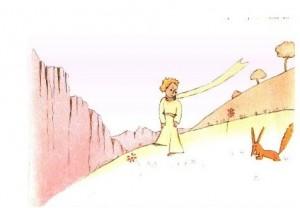 Los personajes y lugares del cuento del principito.