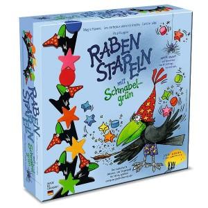Raben stapeln | Juego de apilar figuras y equilibrios