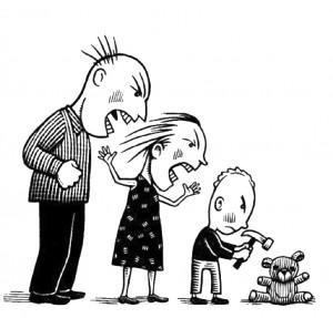 Por qué no debemos gritar a los niños