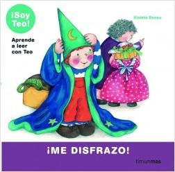 Los libros de Teo | ¡Me disfrazo! | +5 años