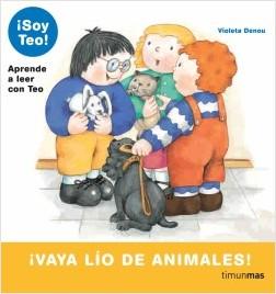 Los libros de Teo | ¡Vaya lío de animales! | +5 años