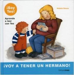 Los libros de Teo | ¡Voy a tener un hermano! | +5 años