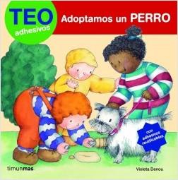 Los libros de Teo | Adoptamos un perro | +3 años