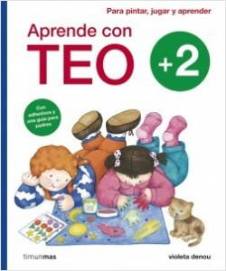 Los libros de Teo | Aprende con Teo +2
